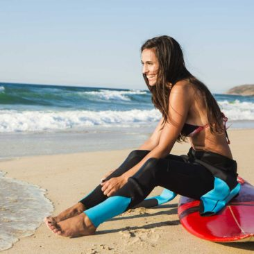 Girls Surf and Yoga Camp