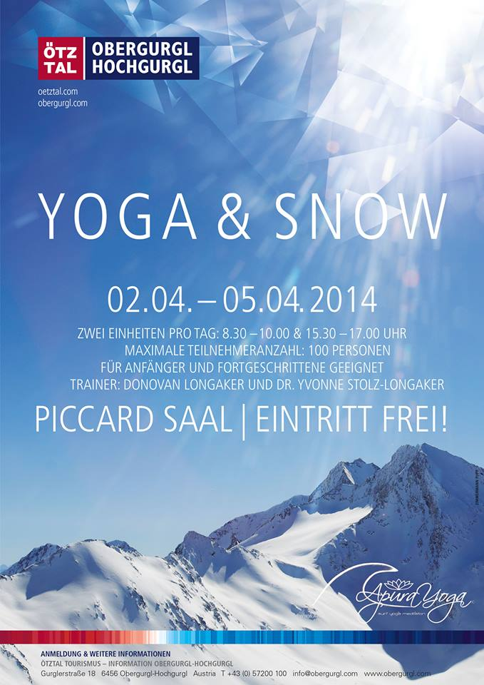 Flyer for Obergurgl