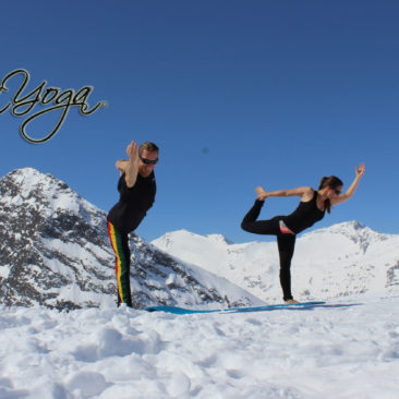 Yoga on Snow event